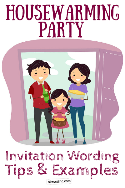 Housewarming Party Invitation Wording Allwording Com