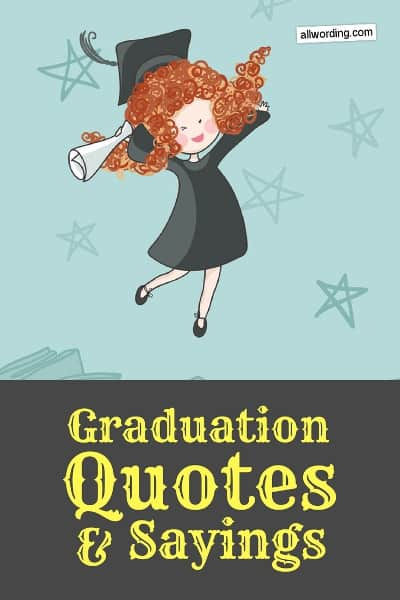 The 60 Best Graduation Quotes Of All Time AllWording Enchanting Quotes About Graduation
