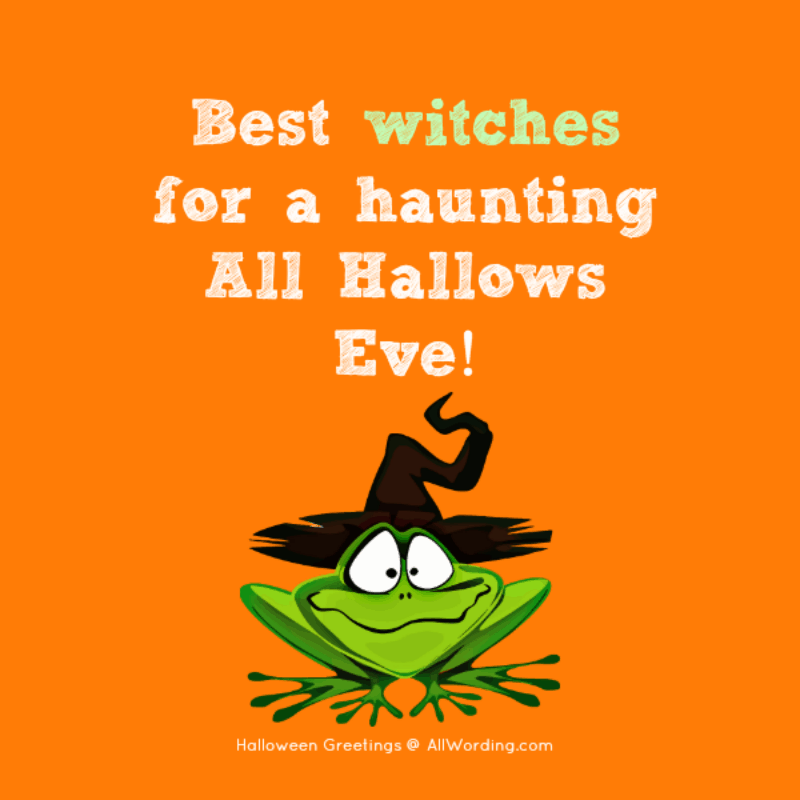Best witches for a haunting All Hallows Eve!