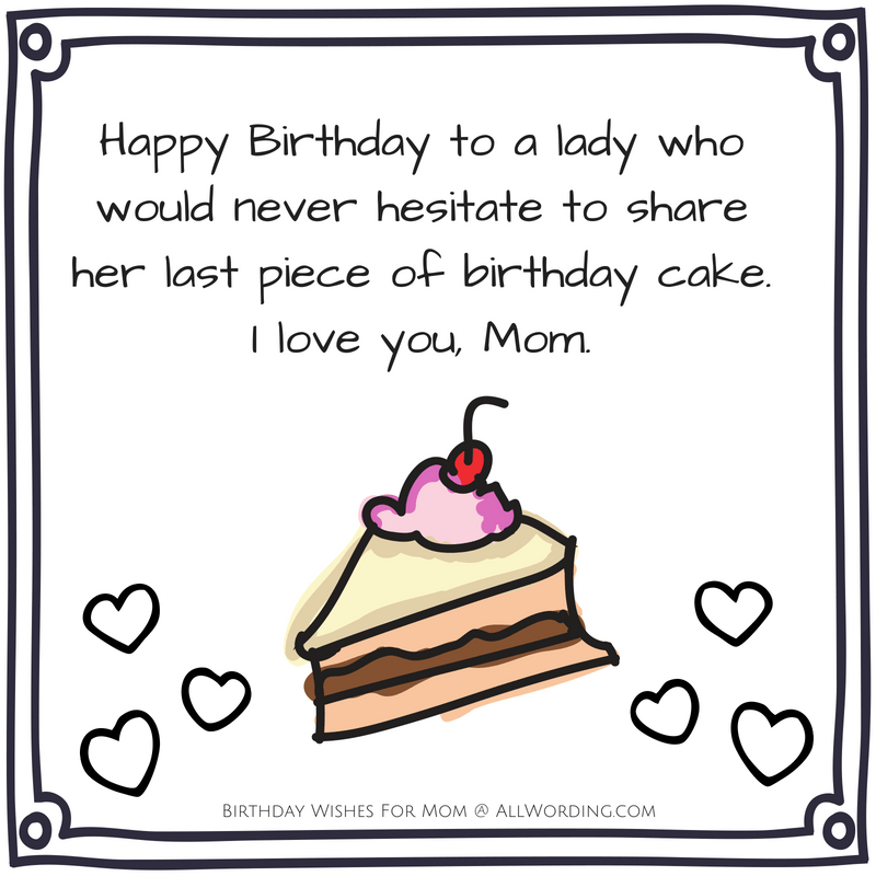 Superb Happy Birthday Mom 50 Heartfelt And Hilarious Birthday Wishes Funny Birthday Cards Online Alyptdamsfinfo