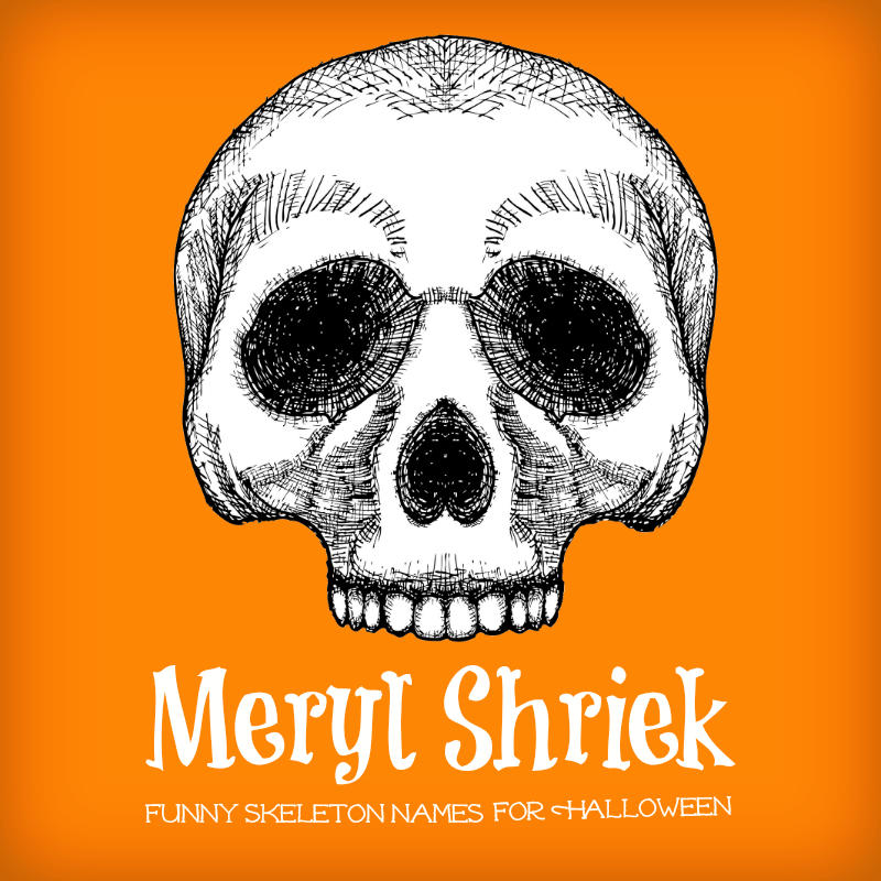 These Silly Skeleton Names Will Tickle Your Punny Bone » AllWording.com
