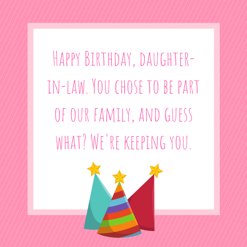 20 Special Birthday Wishes For A Daughter In Law AllWording
