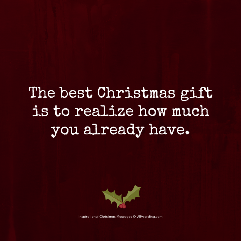 Inspirational Christmas Messages.Warm Someone S Heart With These Inspirational Christmas