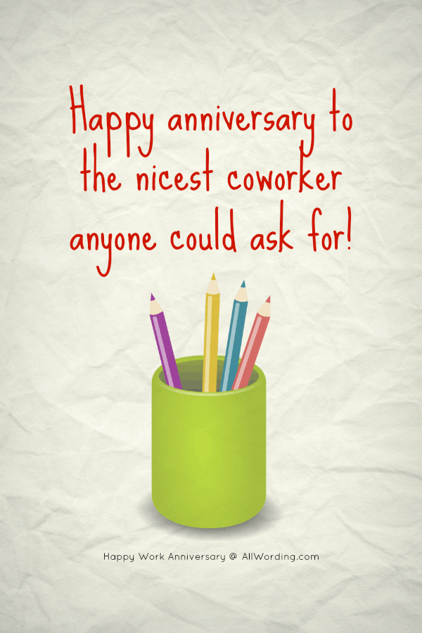 An Appreciation-Packed List of Work Anniversary Messages