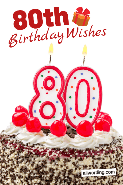 Remarkable Happy 80Th Birthday 20 B Day Wishes For Octogenarians Funny Birthday Cards Online Alyptdamsfinfo