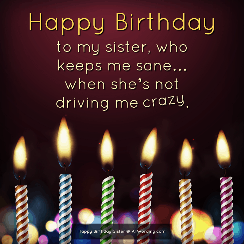 Awesome Happy Birthday Sister 50 Birthday Wishes For Your Amazing Sis Personalised Birthday Cards Paralily Jamesorg