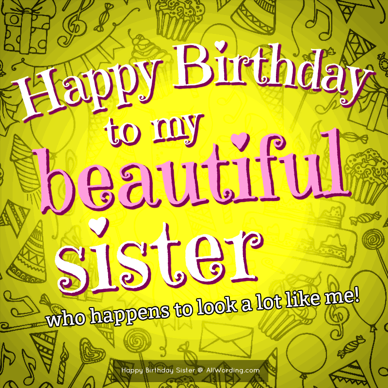 Sensational Happy Birthday Sister 50 Birthday Wishes For Your Amazing Sis Funny Birthday Cards Online Fluifree Goldxyz