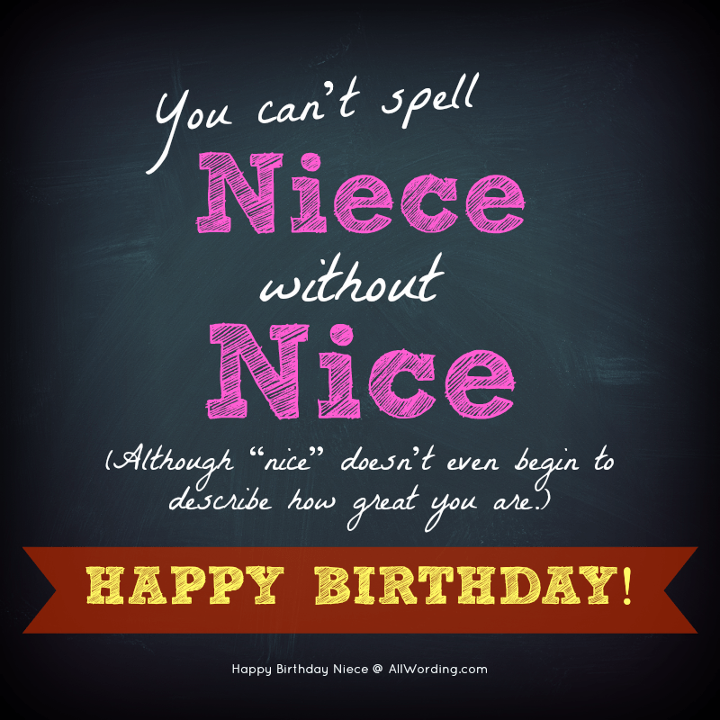 20 Birthday Wishes For A Special Niece » AllWording.com