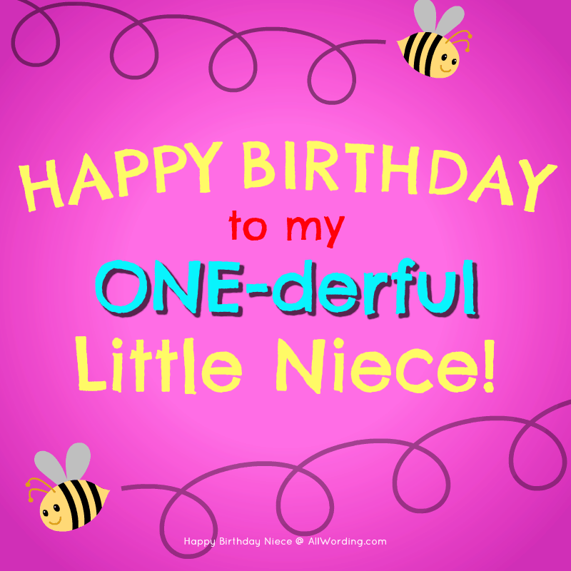 20 Birthday Wishes For a Special Niece » AllWording com