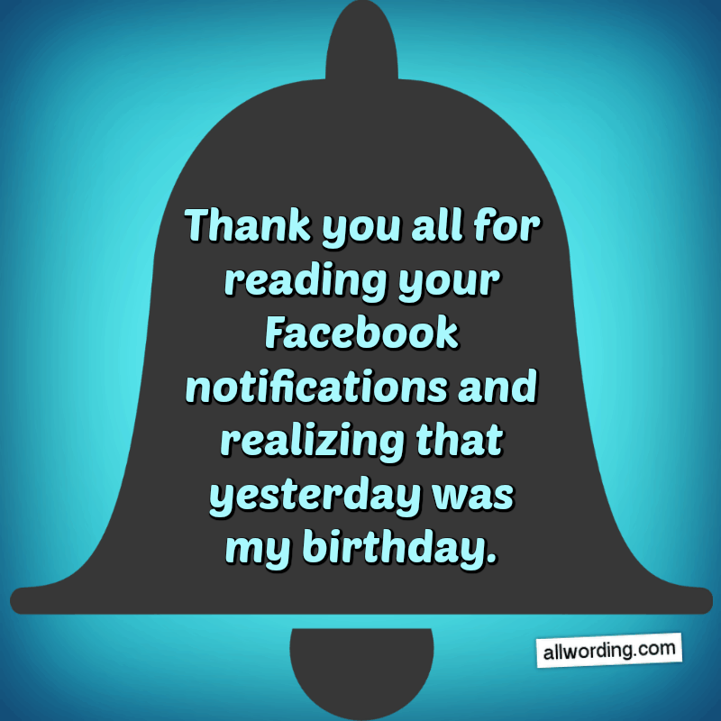 Swell 30 Ways To Say Thank You All For The Birthday Wishes Allwording Com Personalised Birthday Cards Paralily Jamesorg