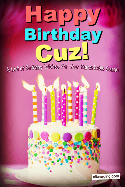 Magnificent Happy Birthday Cuz 50 Birthday Wishes For Your Remarkable Funny Birthday Cards Online Aboleapandamsfinfo